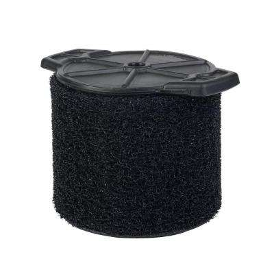 Wet Application Foam Filter for 3.0 Gal. to 4.5 Gal. for RIDGID Wet Dry Vacs