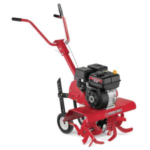 Colt 24 in. 208 cc OHV Engine Front-Tine Forward-Rotating Gas Tiller with Adjustable Tilling Width