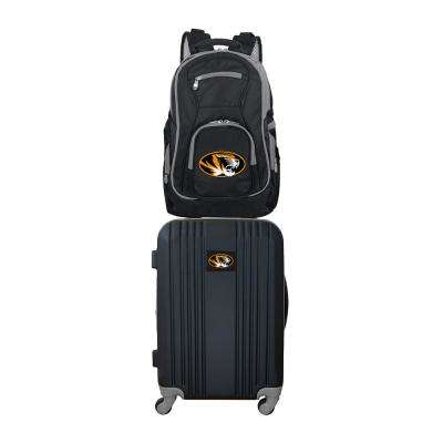 NCAA Missouri Tigers 2-Piece Set Luggage and Backpack