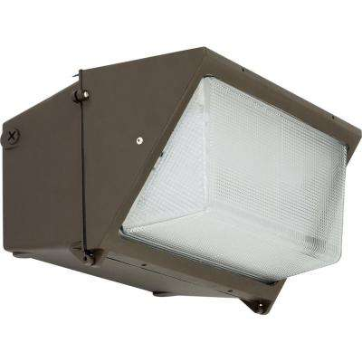 PCOWP Collection Bronze Outdoor Integrated LED Wall Pack Light