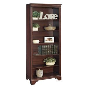 belcourt delmont cherry open bookcase