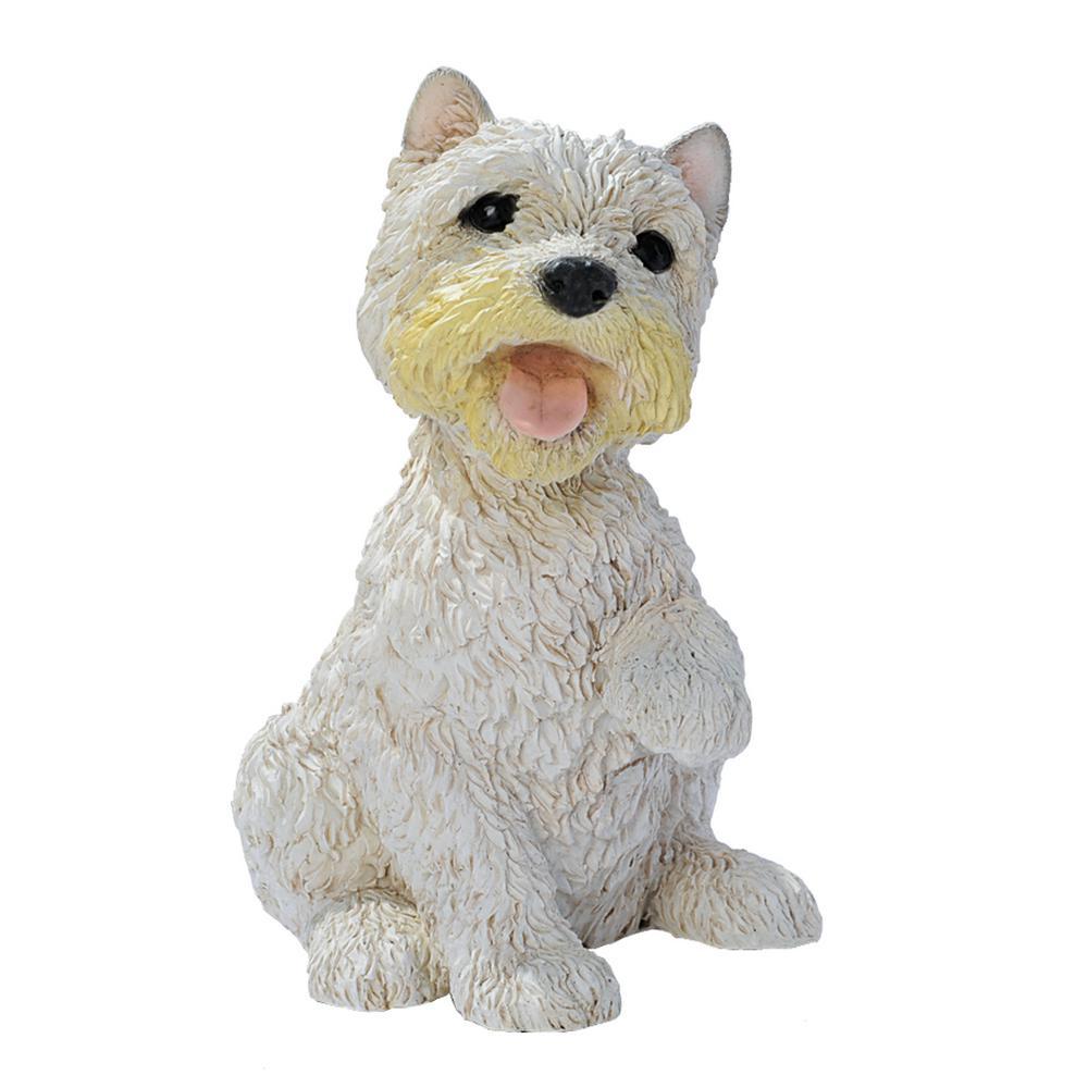 Design Toscano 10 In H West Highland Terrier Puppy Dog Statue