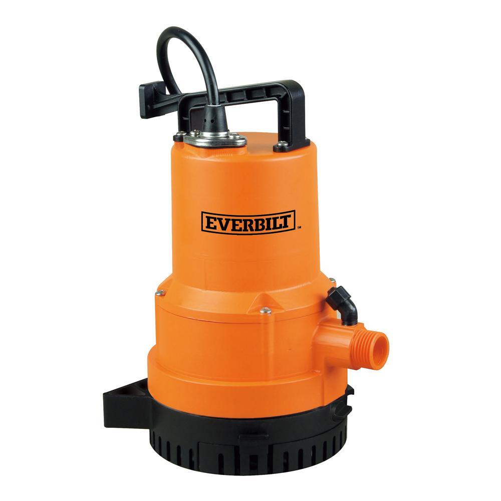 Everbilt Everbilt 1/4 HP 2-in-1 Utility Pump
