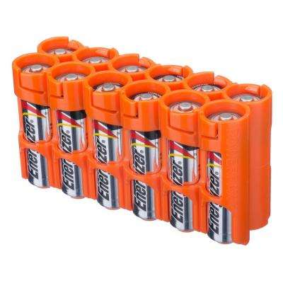 12 AA Pack Battery Organizer and Dispenser