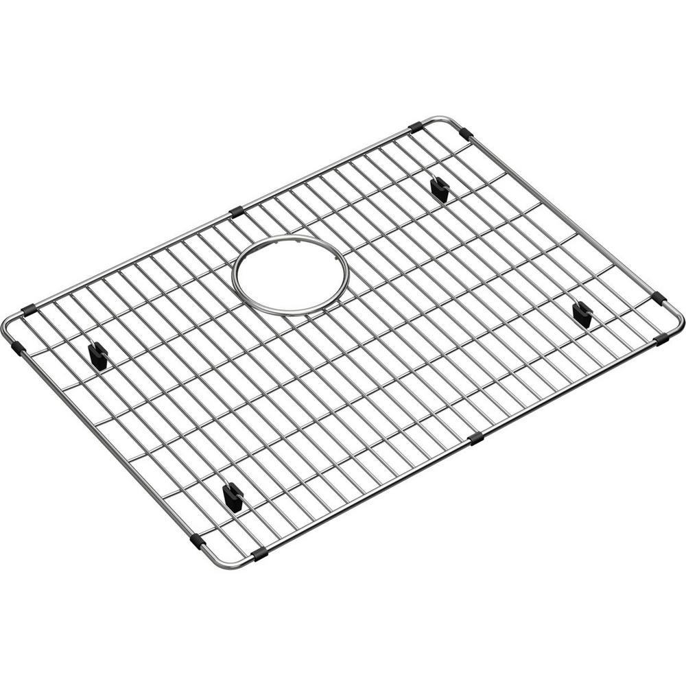 Elkay Crosstown 21 In X 15 25 In Bottom Grid For Kitchen Sink In Stainless Steel Ctxbg2115 The Home Depot