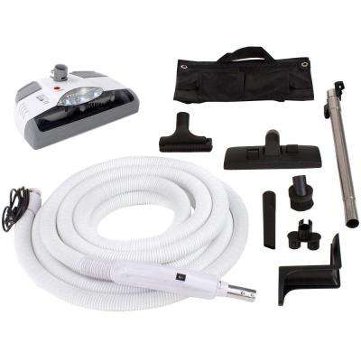 35 ft. Central Vacuum Kit with White Power Head for Electrolux Aerus Beam