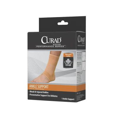 38d1563b03 Curad Small U-Shaped Hinged Knee Support-ORT23220SDH - The Home Depot