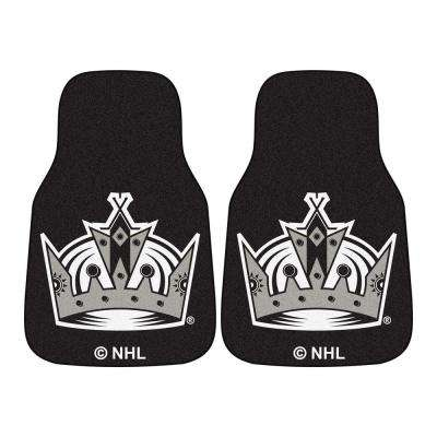 Los Angeles Kings 18 in. x 27 in. 2-Piece Carpeted Car Mat Set