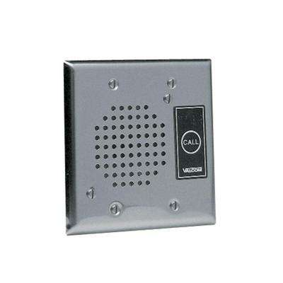 IP Talkback Door Phone/Intercom with Durable Flush Mount - Brushed Stainless Steel Plate