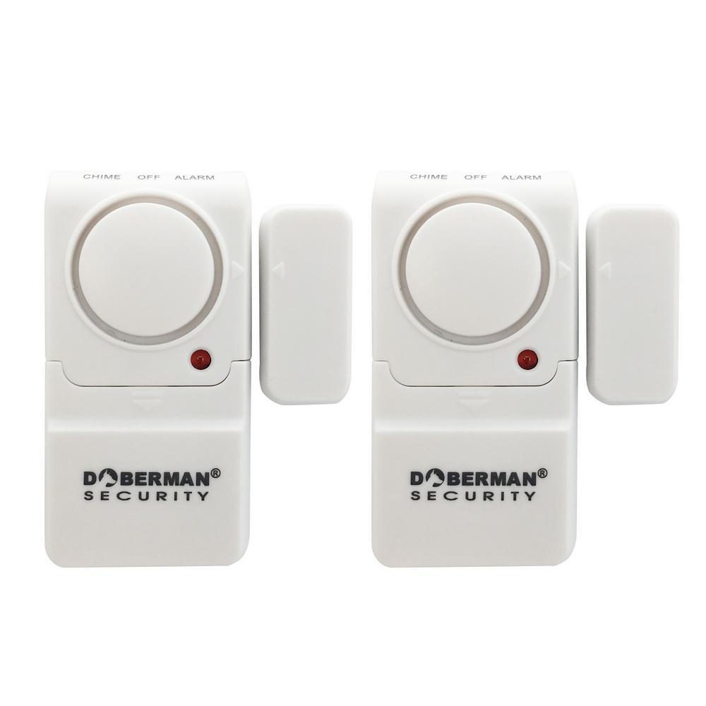 Elexa Dome Wireless Door Alarm Z-Wave Plus Battery Powered