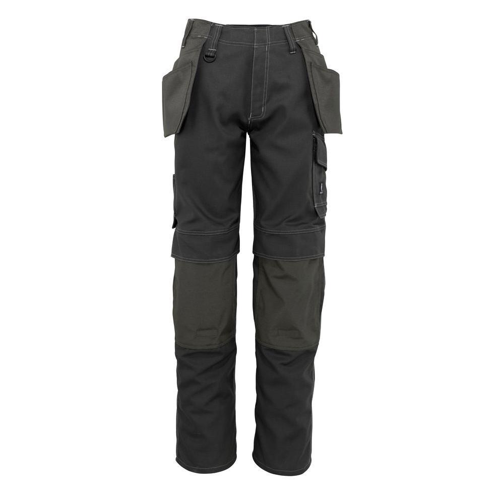 MASCOT Men's 38 in. x 32 in. Dark Grey 65% Polyester/35% Cotton Springfield Craftsmen Pant