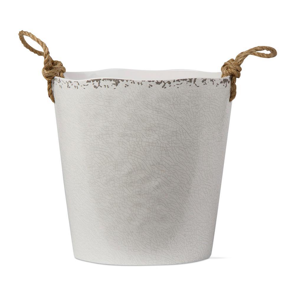 Veranda Ivory Melamine Wine Bucket