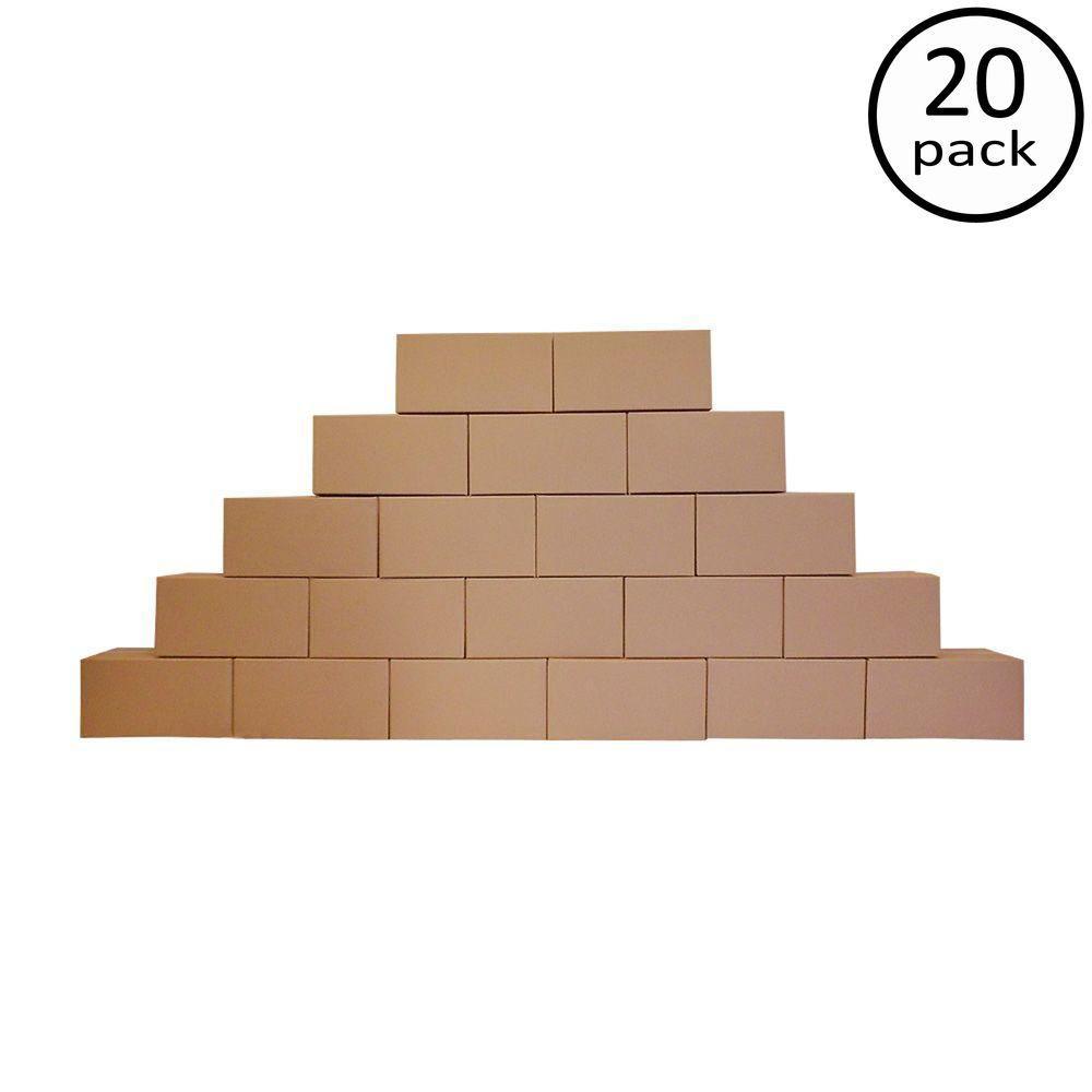 24 in. L x 12 in. W x 12 in. D Moving Box (20-Pack)