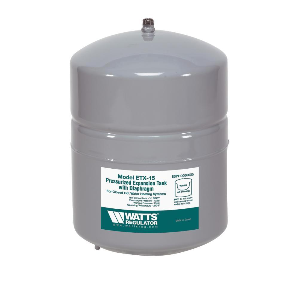 Watts Pre-Charged Non-Potable Water Expansion Tank