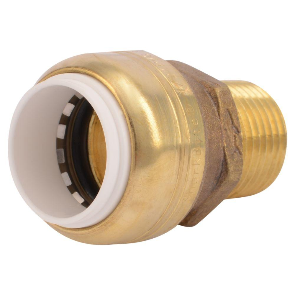 1/2 in. Brass Push-to-Connect PVC IPS x 1/2 in. Male Pipe
