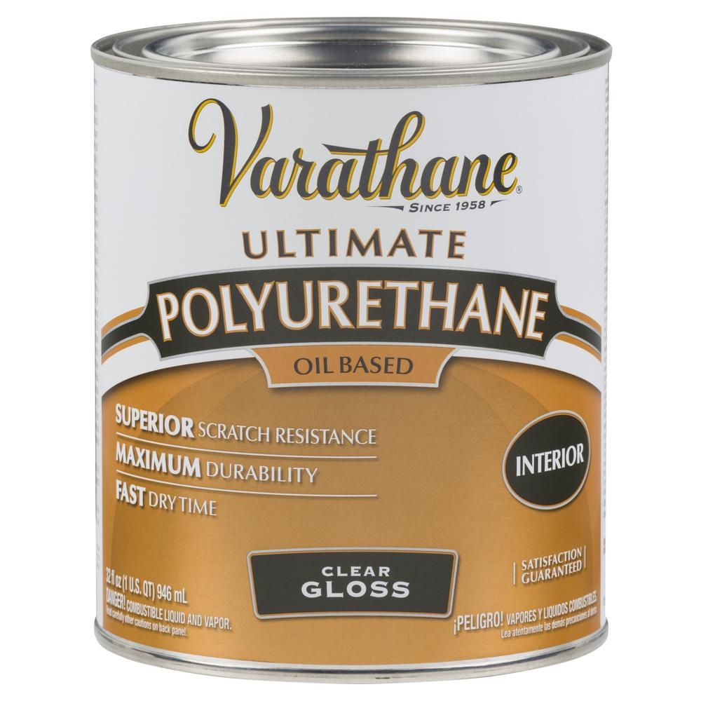 Varathane 1 qt. Clear Gloss 275 VOC Oil-Based Interior Polyurethane