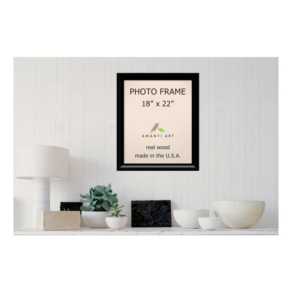 Steinway 18 in. x 22 in. Black Picture Frame