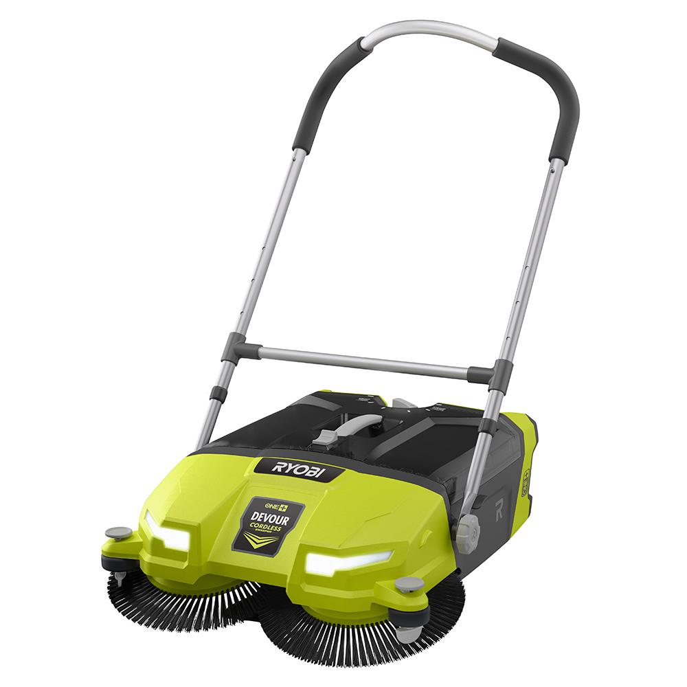 18-Volt One+ 4.5 Gal. Devour Debris Sweeper (Tool-Only), Greens