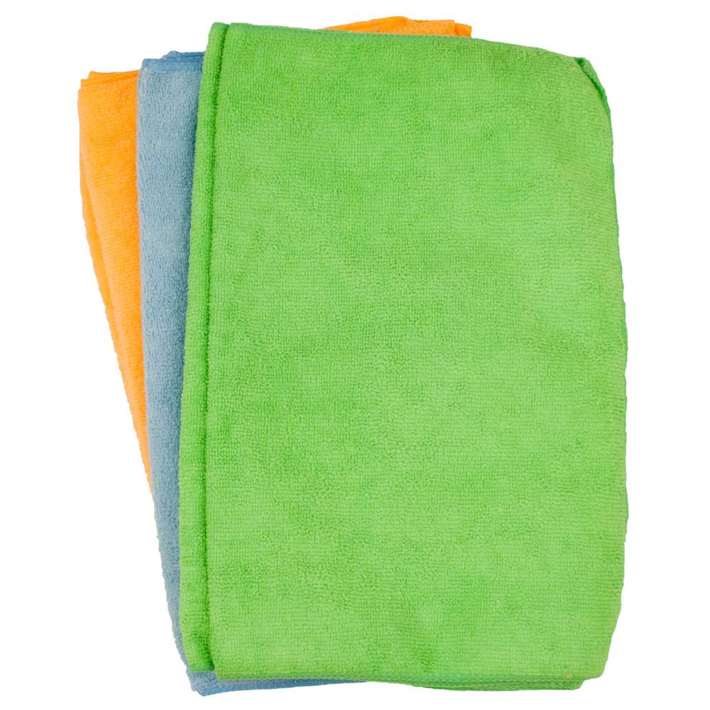 Microfiber All-Purpose Cleaning Towels (12-Pack)
