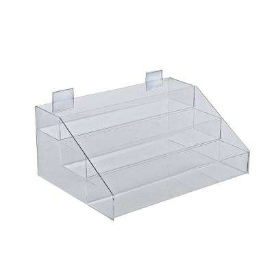 3-Tier Acrylic Counter Step Display