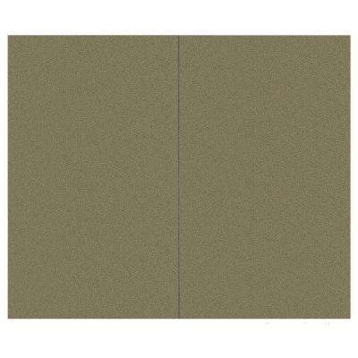 44 sq. ft. Cumin Fabric Covered Top Kit Wall Panel