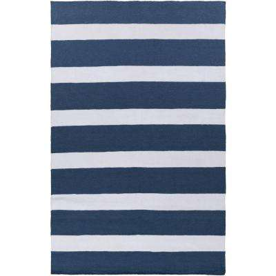 White - Striped - Outdoor Rugs - Rugs - The Home Depot