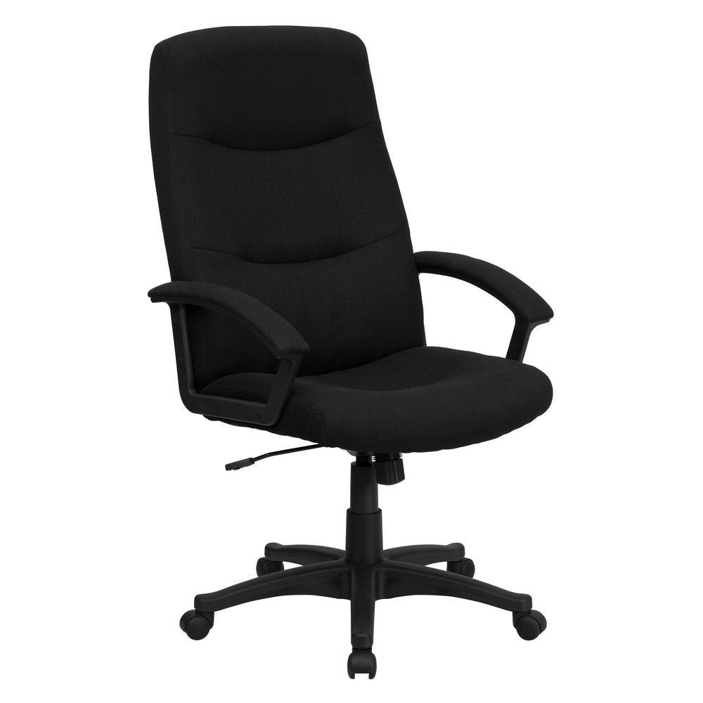 Flash Furniture High Back Black Fabric Executive Swivel Office Chair on black office telephone, black accent chair, black office man, black designer chair, black fabric folding chair, black lift chair, high back executive leather desk chair, black couch chair, black lounge chair, black womb chair, black storage chair, black diamond chair, black and white office background, black lounging chair, black camp chair, computer chair, black oriental chair, black game chair, black studio chair, black easy chair,