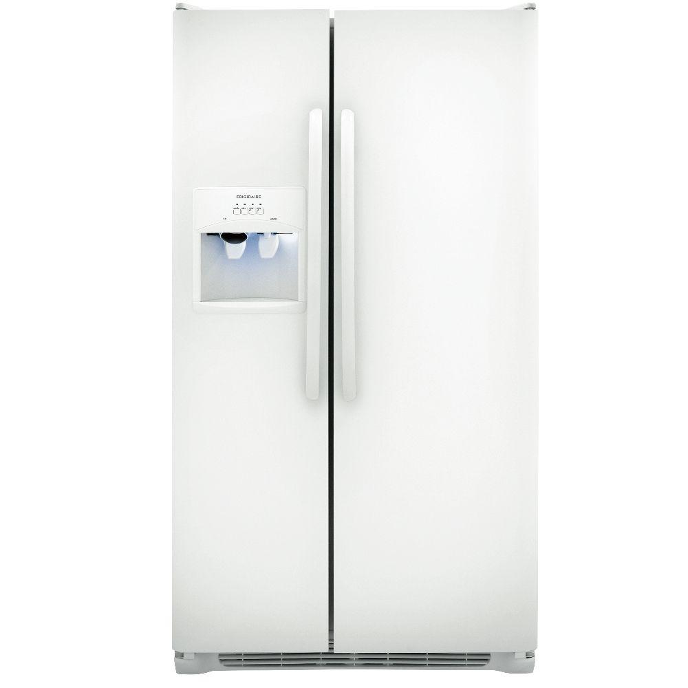 Frigidaire 25.5 cu. ft. Side by Side Refrigerator in Pearl