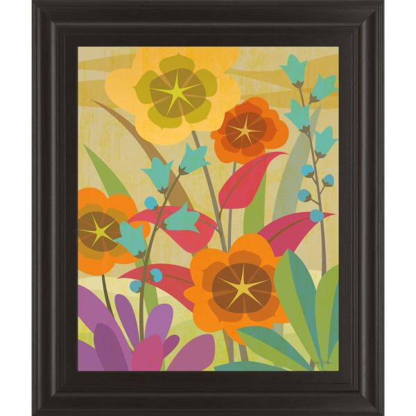 Classy Art 22 in. x 26 in. ''Flowerbed'' by Cary Phillips