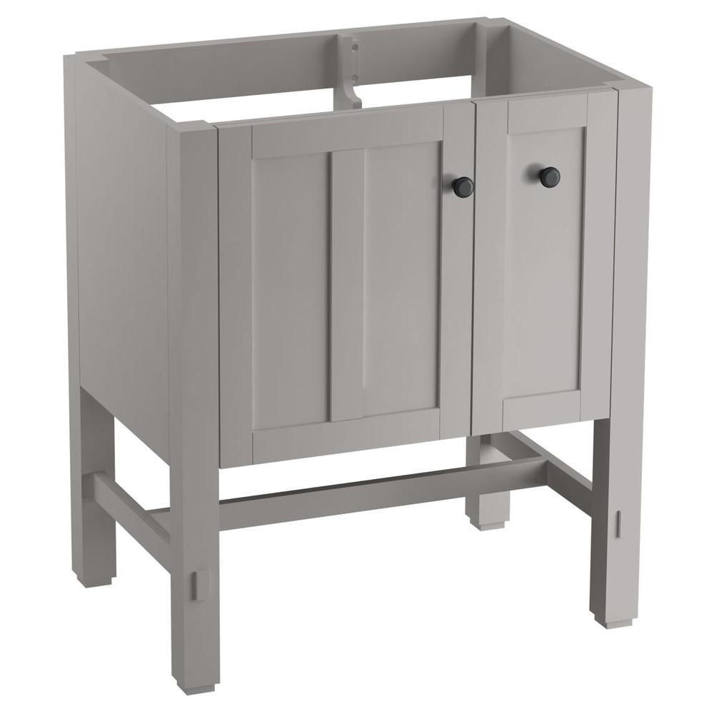 KOHLER Tresham 30 In W X 21 7 8 D 34 1 2 H Vanity Cabinet Linen White K 5289 1WA