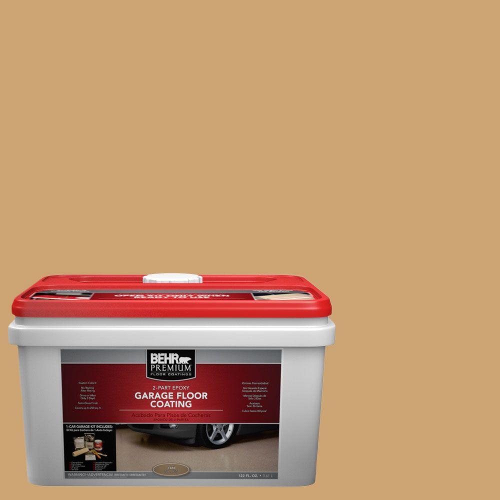 BEHR Premium 1-gal. #PFC-29 Gold Torch 2-Part Epoxy Garage Floor Coating Kit
