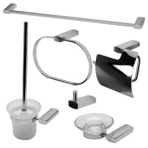 ALFI BRAND 6-Piece Bath Hardware Set in Polished Chrome by ALFI BRAND