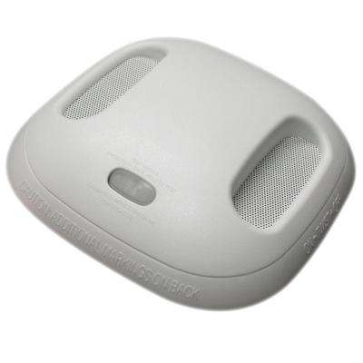 2-in-1 Battery Operated Wireless-Interconnected Combination Smoke and Carbon Monoxide Alarm with Voice