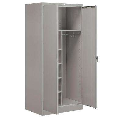 9200 Series 78 in. H x 24 in. D Combination Storage Cabinet Assembled in Gray