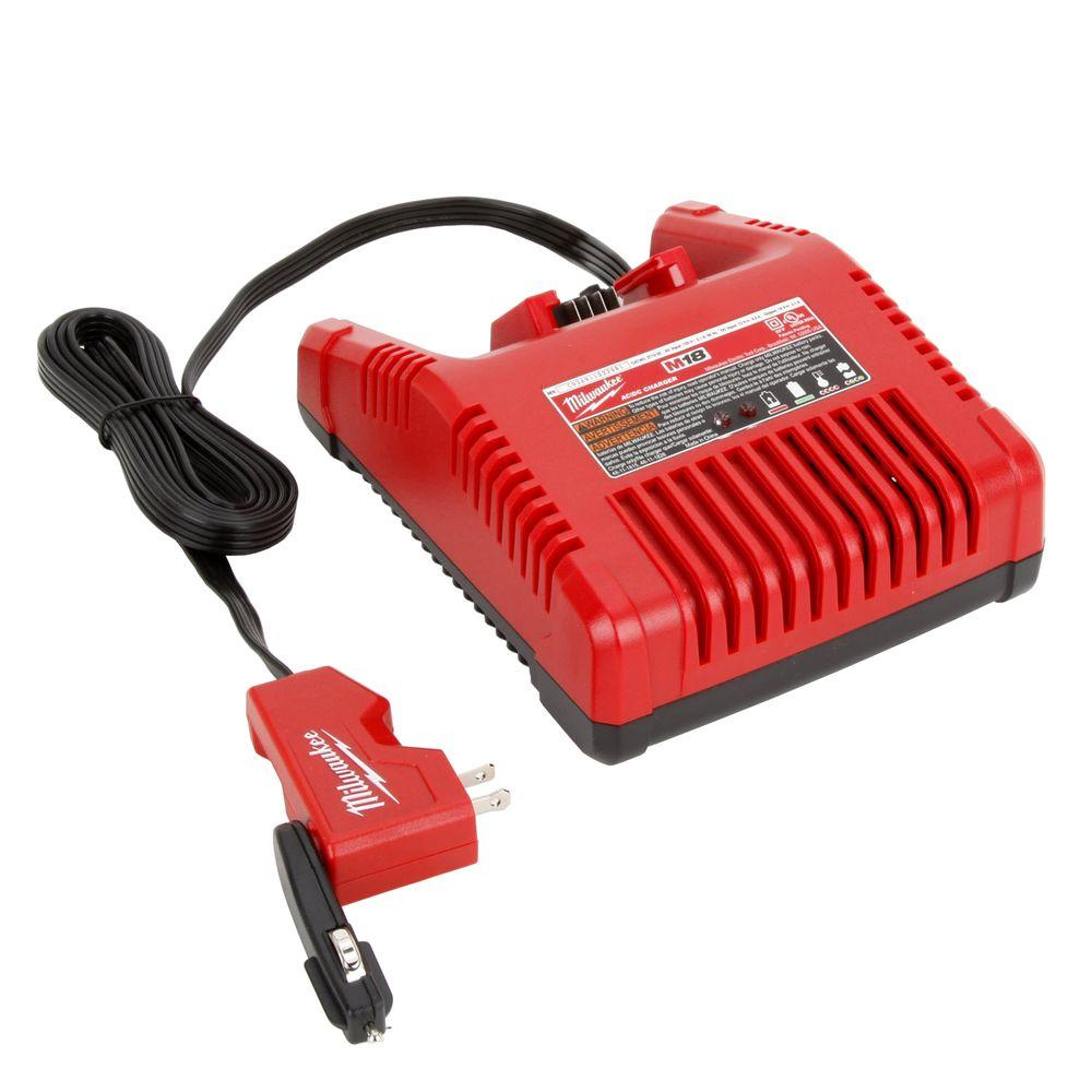 Milwaukee M18 AC/DC Wall and Vehicle Charger