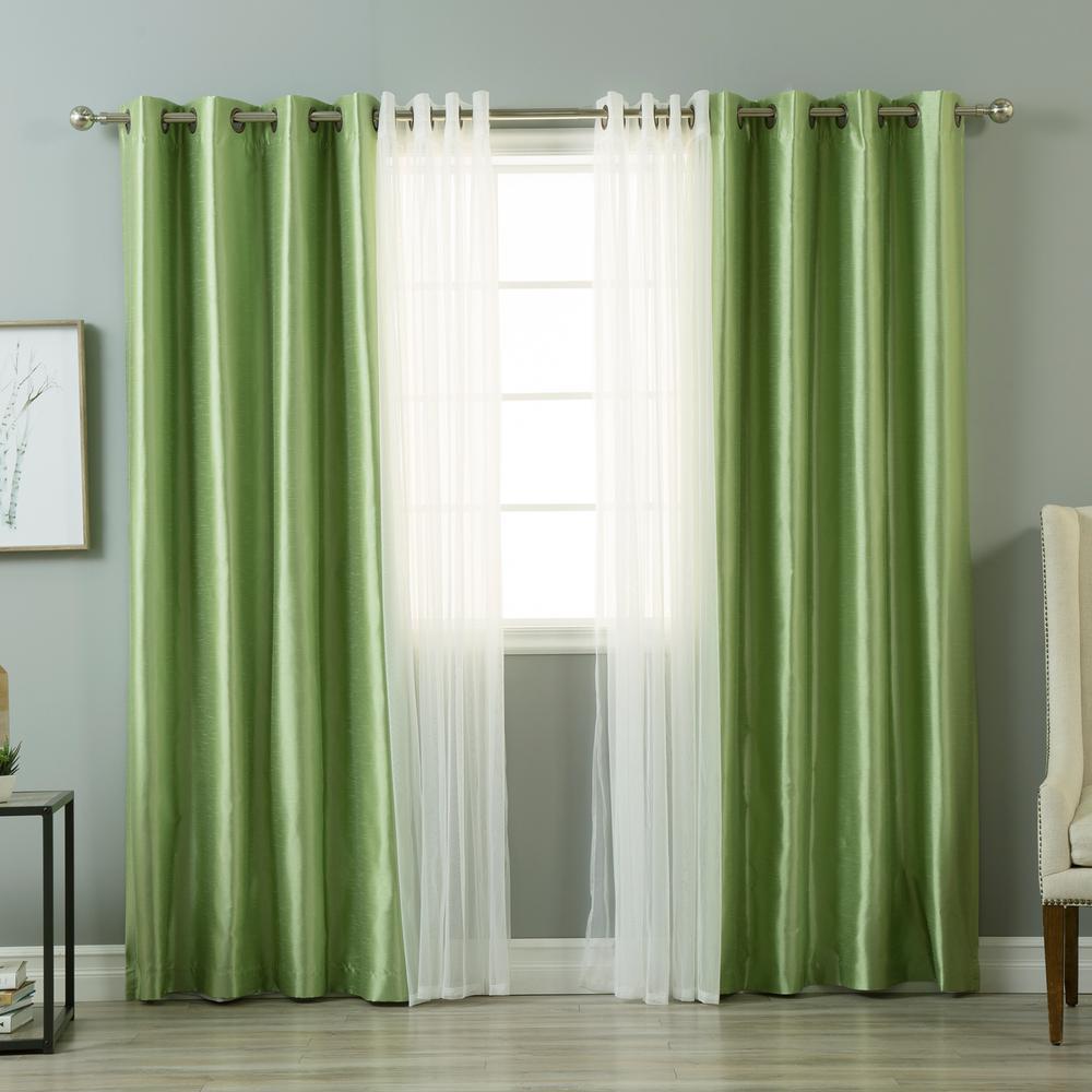 Fashion 4 Home green machine washable best home fashion curtains drapes