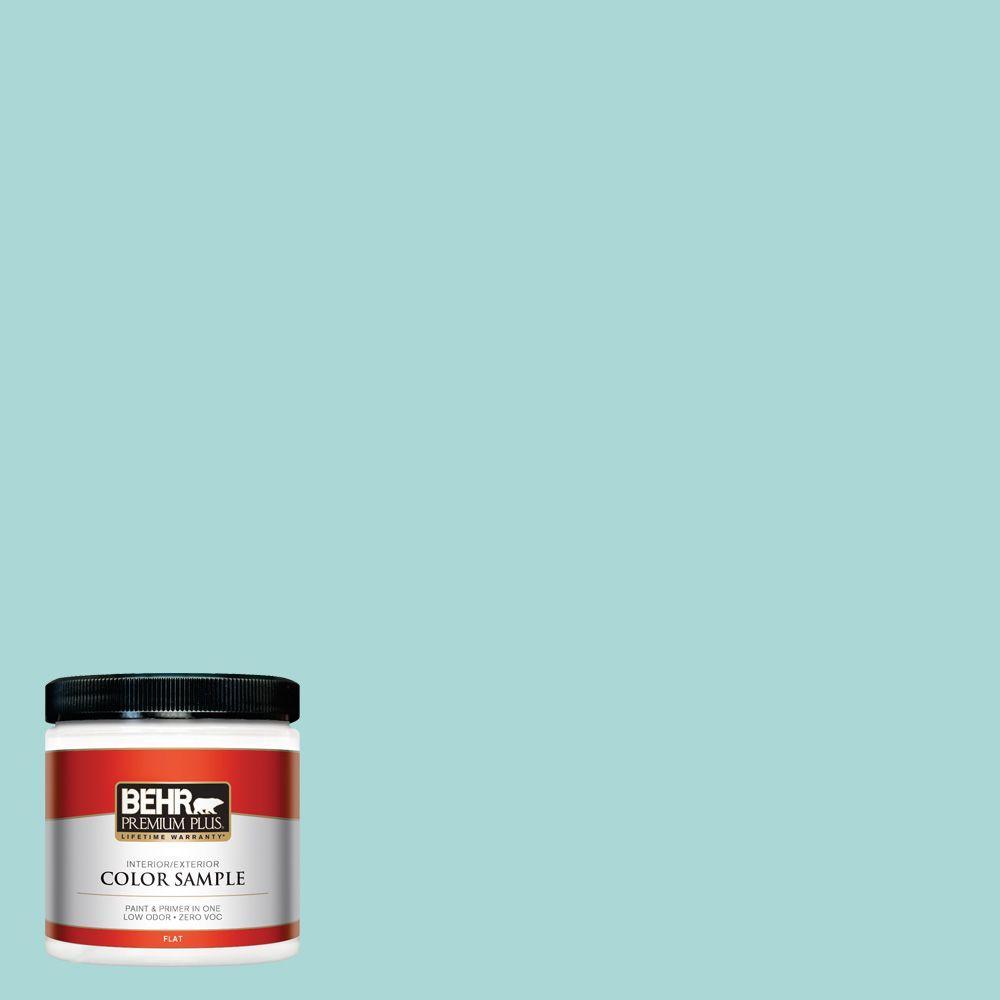 BEHR Premium Plus 8 oz. #510C-3 Rivers Edge Interior/Exterior Paint Sample