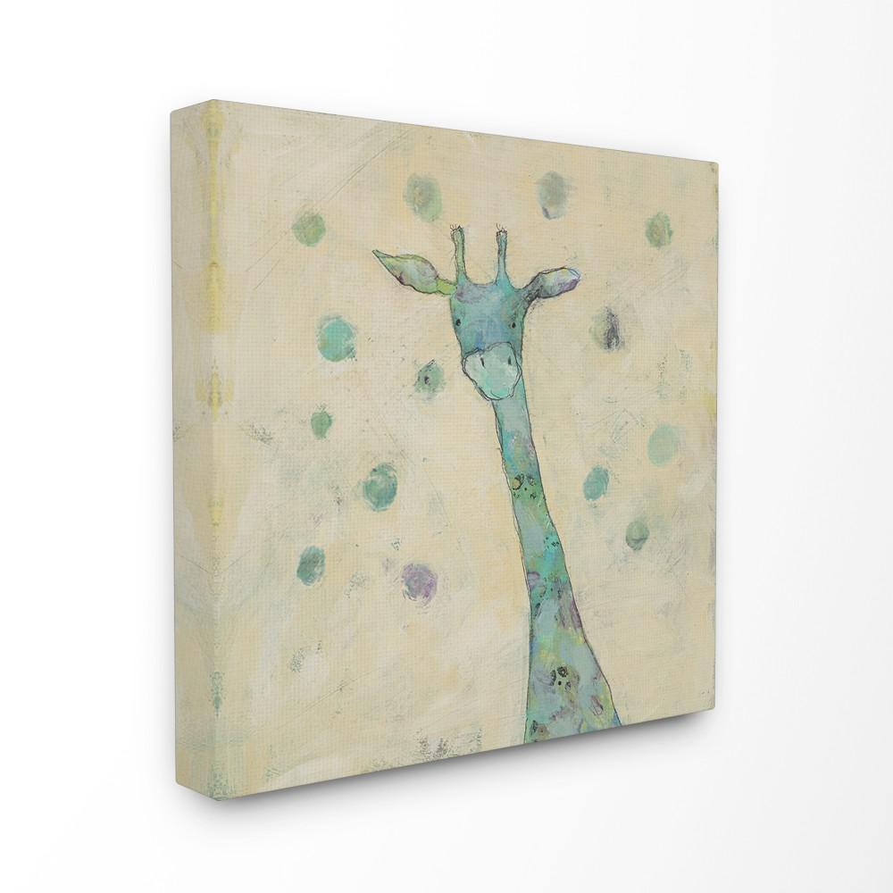 Giraffe Painterly Doodle By Judi