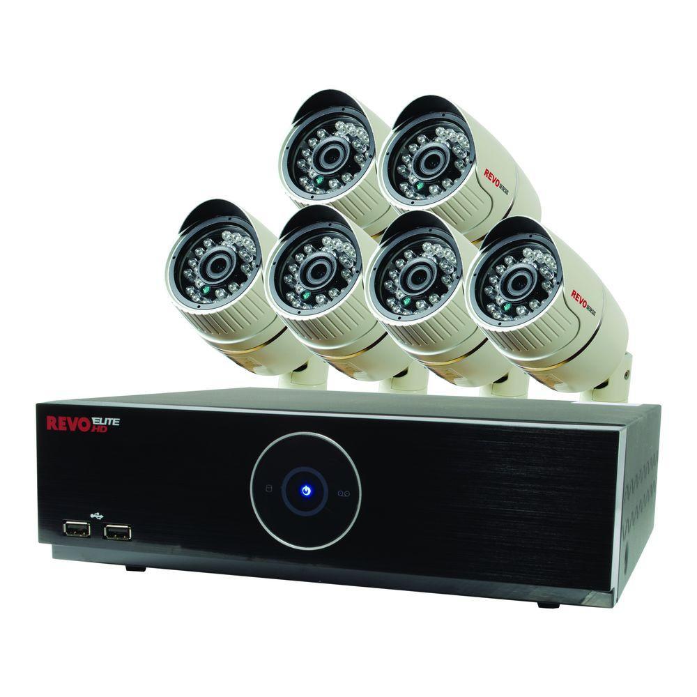 Revo Elite HD 8-Channel 1080p 2TB NVR Surveillance System...
