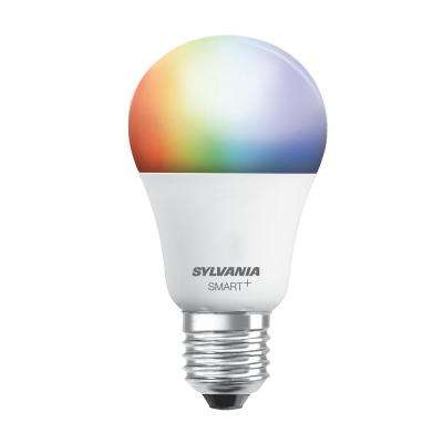 60W Equivalent Multi-Color and Adjustable White A19 Smart LED Light Bulb
