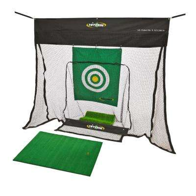 Golf Indoor Practice Net in Black
