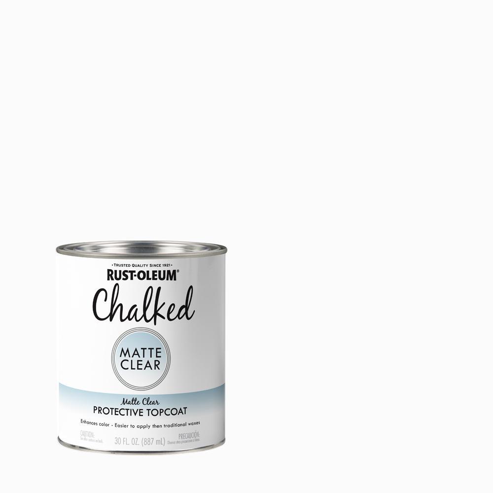 Rust-Oleum 30 oz. Clear Ultra Matte Interior Chalked Paint