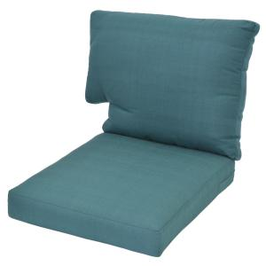 charlottetown charleston replacement outdoor loveseat cushion 7809 01242504 the home depot. Black Bedroom Furniture Sets. Home Design Ideas