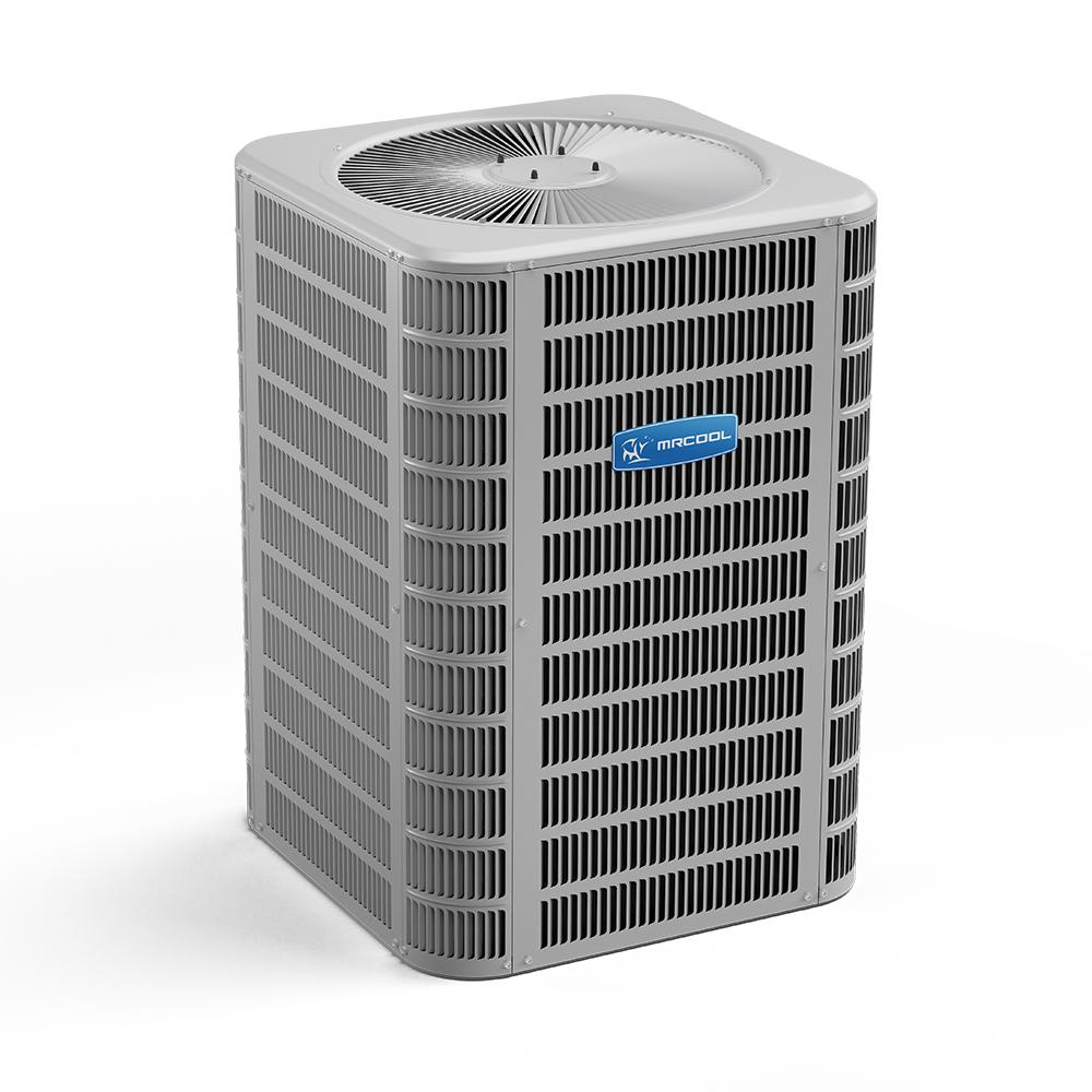 Mrcool Signature 4 Ton 46 000 Btu Up To 16 Seer R 410a Central Split System Air Conditioning Condenser Mac16048a The Home Depot
