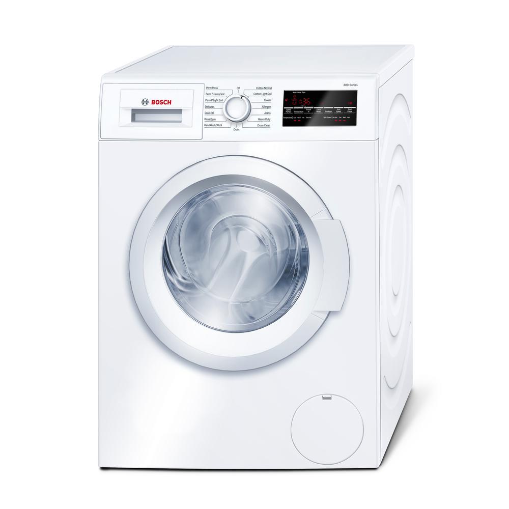 Bosch 300 Series 24 In 2 2 Cu Ft White High Efficiency