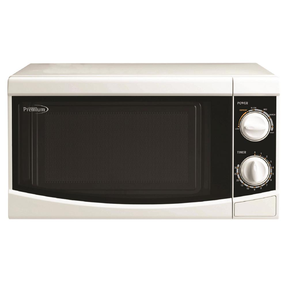 Counter Top Microwave Oven In White