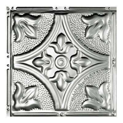 Jamestown Unfinished 12 in. x 12 in. Nail-Up Ceiling Tile Sample
