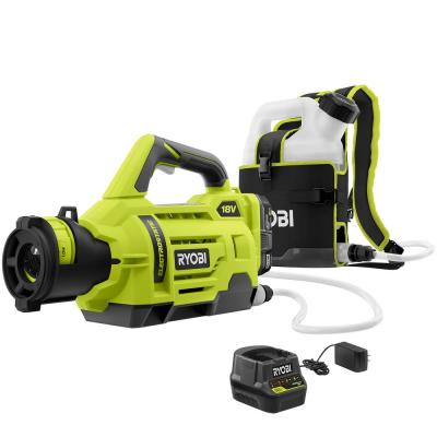 ONE+ 18-Volt Lithium-Ion Cordless Electrostatic 1 Gal. Sprayer with Two 2.0 Ah Battery and Charger Included