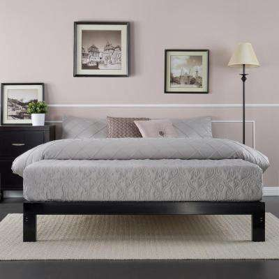 Platform 2000 Queen Metal Bed Frame  Black. Bed Frames   Box Springs   Bedroom Furniture   The Home Depot