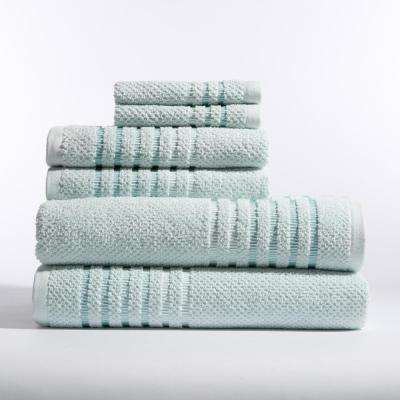 Maggie 6-Piece Bath Towel in Fresh Air